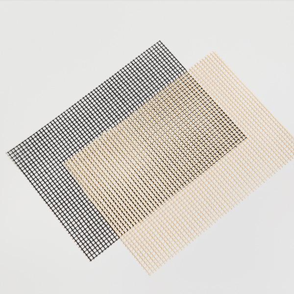 Offenmaschiges PTFE-beschichtetes Kevlargewebe in normaler und antistatischer Ausführung