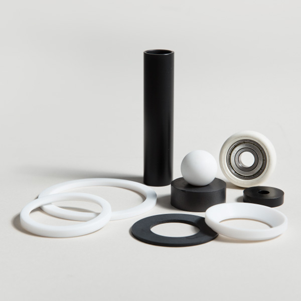 Dreh-, Fräs-, und Stanzeteile aus thermoplastischen Kunststoffen und Thermoplasten