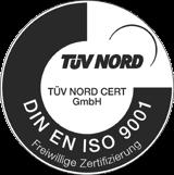 synthetica ist natürlich nach DIN EN ISO 9001 zertifiziert.